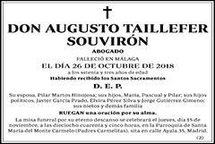 Augusto Taillefer Souvirón